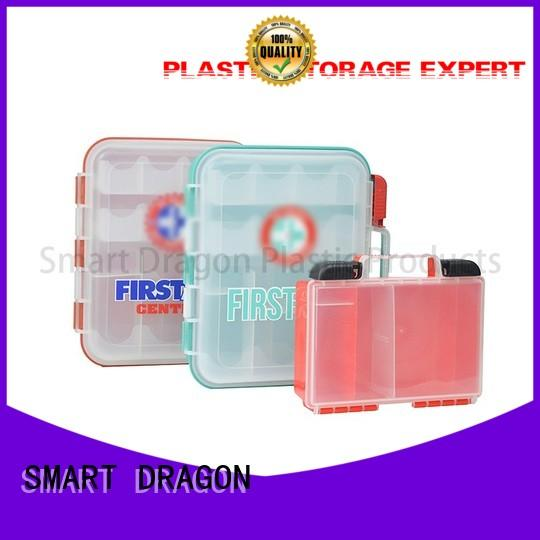 travel camping material OEM plastic medicine box SMART DRAGON