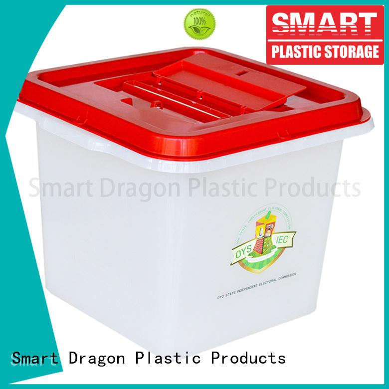 standing boxes ecofriendly SMART DRAGON Brand ballot box company factory