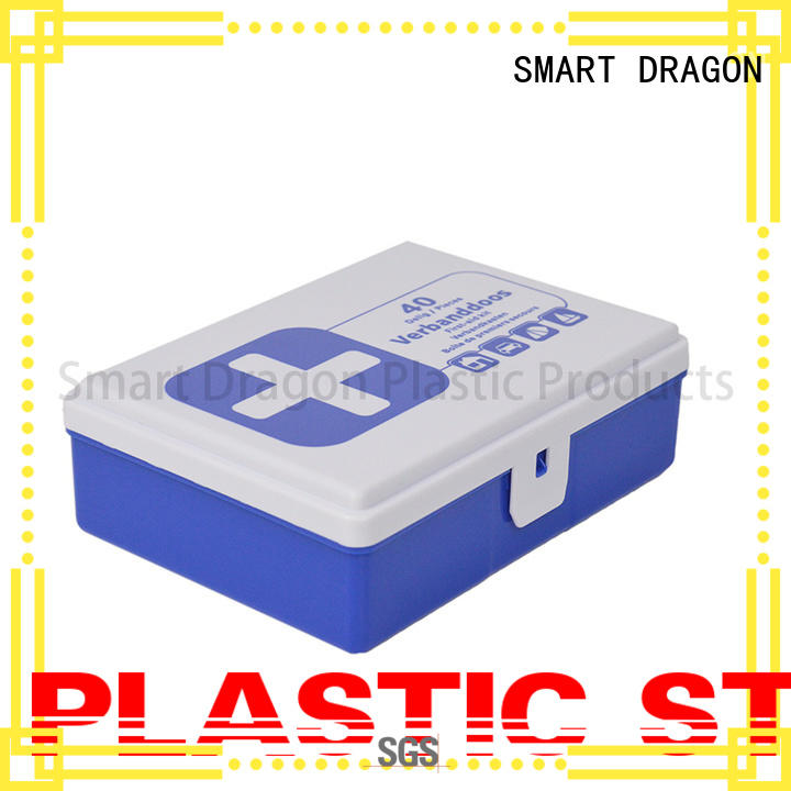 abs plastic medicine box portable waterproof for workplace