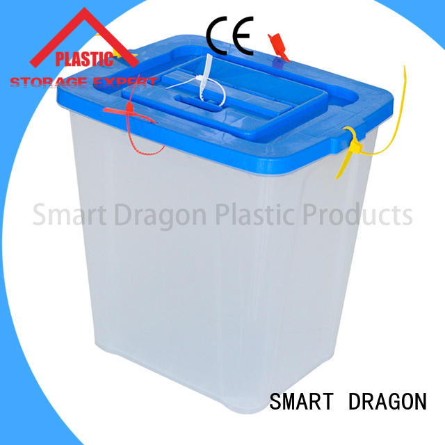 polypropylene ballot box manufacturer wheel for election SMART DRAGON