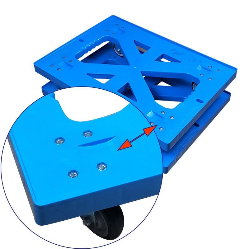 SMART DRAGON-Manufacturer Of Folding Hand Truck 4 Wheels Transportation Moving Dolly Trolle-2