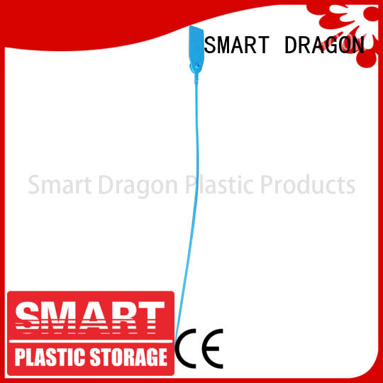 pp material plastic pull tight seals polypropylene for ballot box SMART DRAGON