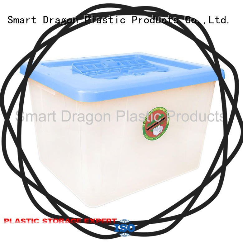 best plastic storage bins clear factory for election