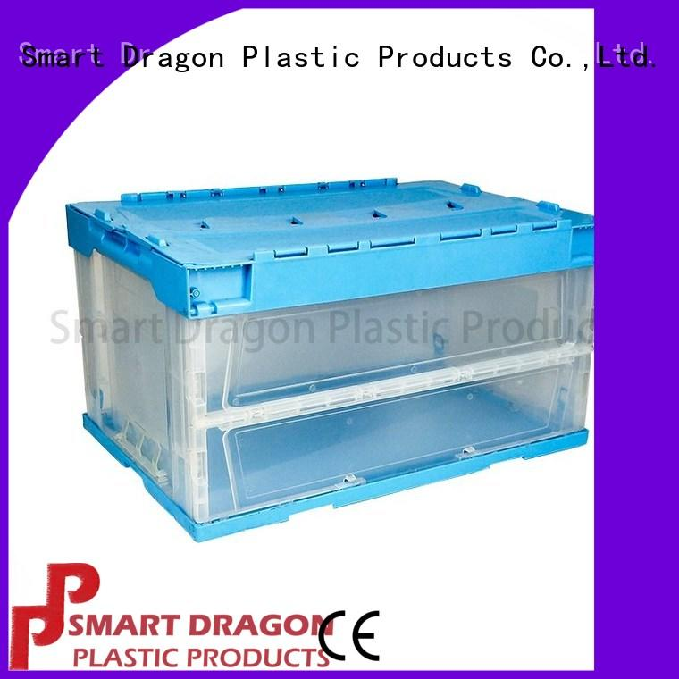 SMART DRAGON wholesale turnover boxes get quote for shipping