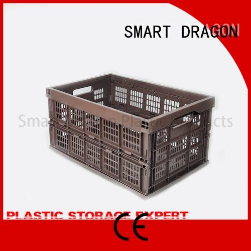 SMART DRAGON folding plastic folding boxes perforated for car