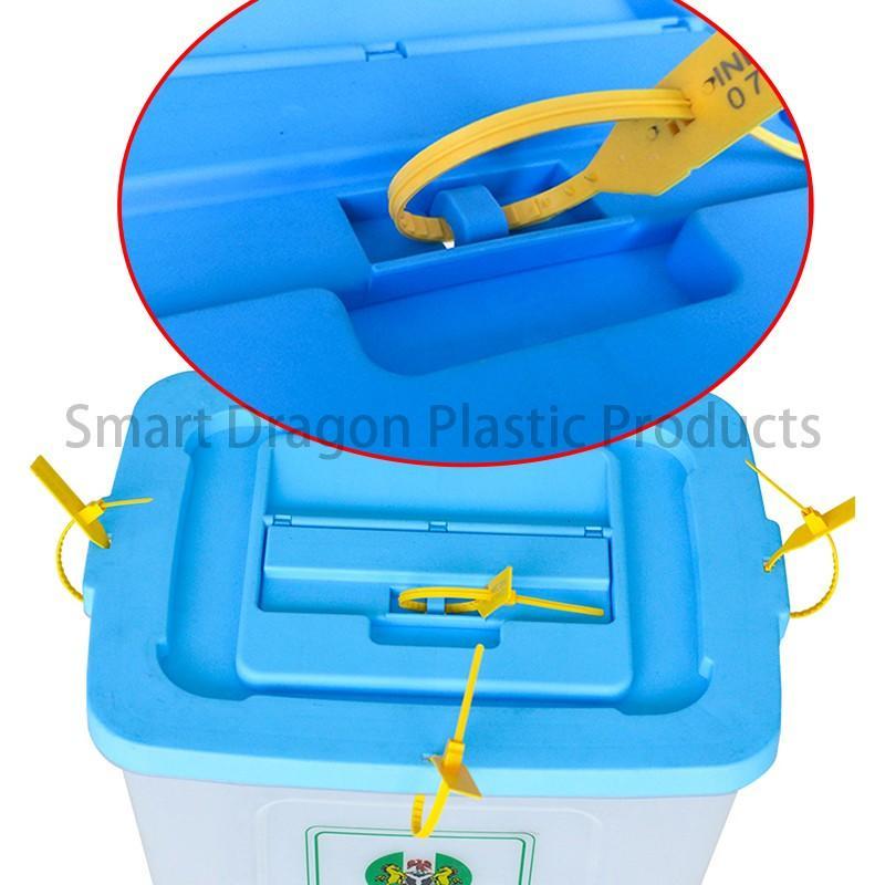 SMART DRAGON-50l-60l Plastic Ballot Boxes In Polypropylene | Large Ballot Box Factory-1