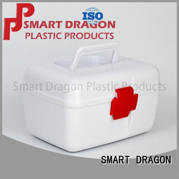 portable red first aid box disposable for storage SMART DRAGON
