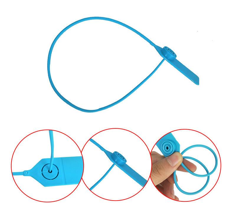 SMART DRAGON-High-quality Pull Tight Polyethylene Plastic Seals Security Seal | Plastic-1