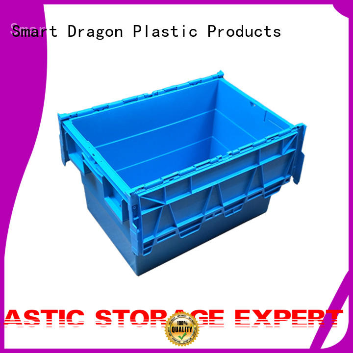 high-quality turnover crate with lid pp material for wholesale