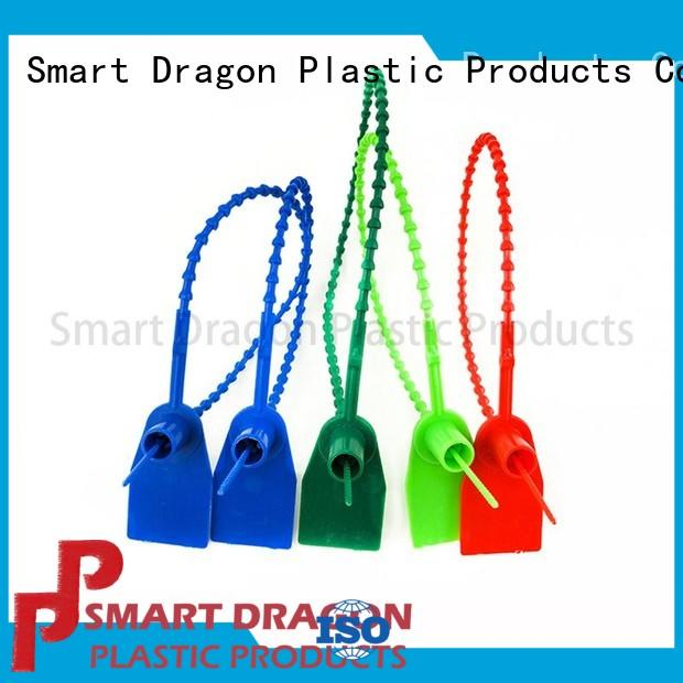 SMART DRAGON logo plastic truck seals strip for packing