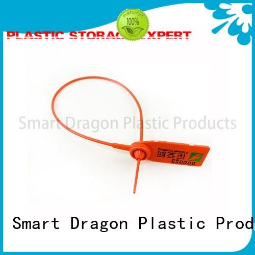 high security truck seals time tie SMART DRAGON Brand plastic bag security seal
