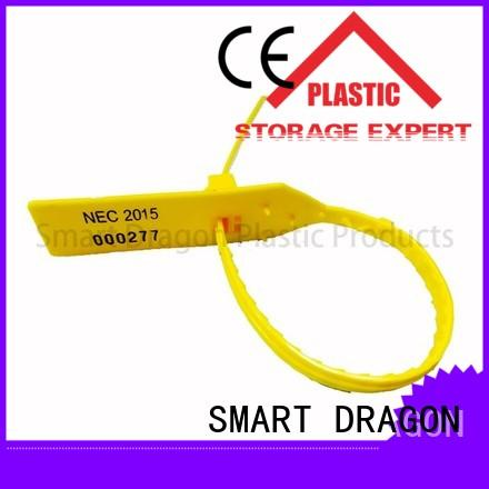 SMART DRAGON locking security tamper seals tie for packing