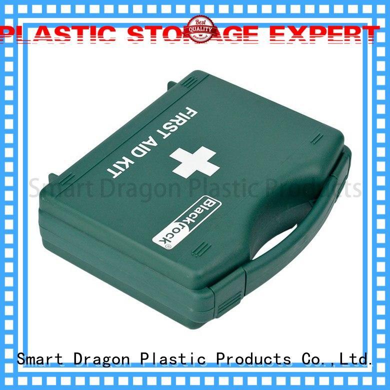 first aid box supplies material aid plastic medicine box travel SMART DRAGON Brand