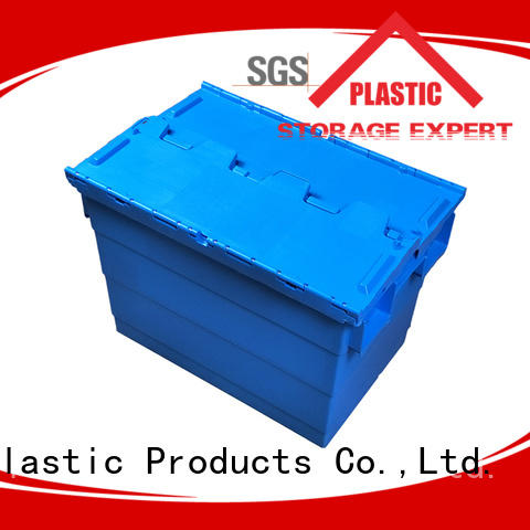 SMART DRAGON logistic plastic storage boxes pp material for dislocation