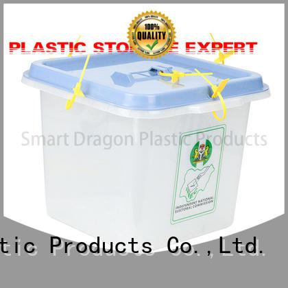 86l transparent plastic disposable SMART DRAGON Brand plastic products supplier