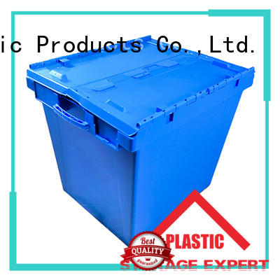 SMART DRAGON lid stackable turnover box manufacturers for dislocation