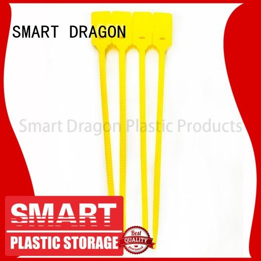 SMART DRAGON 387mm custom security seals pull for voting box