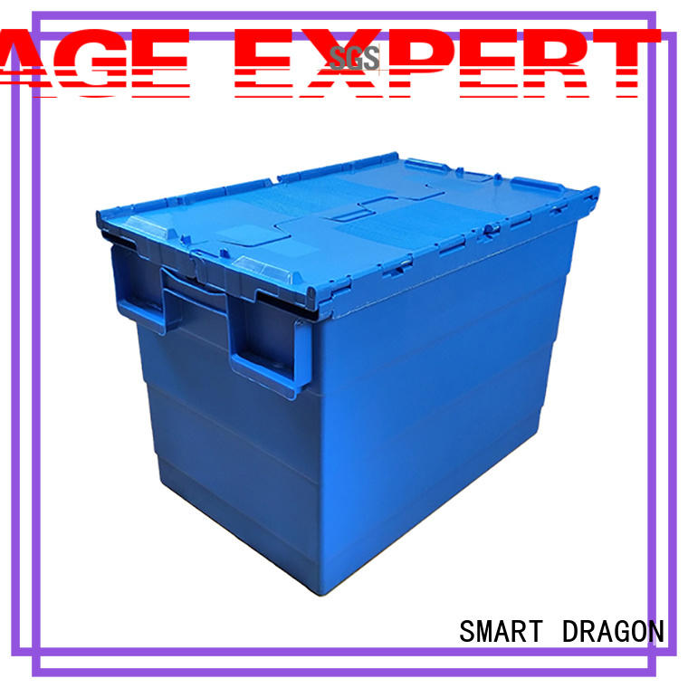 SMART DRAGON nesting stackable turnover box buy now for forwarder