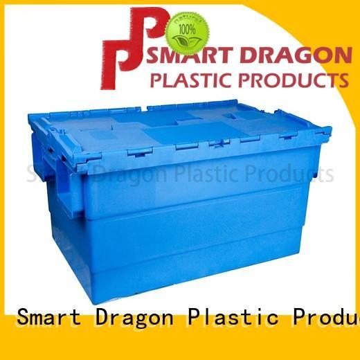 190l plastic crates nesting for supermarket SMART DRAGON