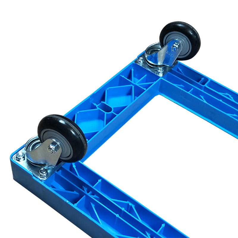 SMART DRAGON-Professional Portable Plastic Deck Platform Trolley Four-wheel Supplier