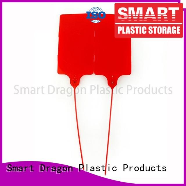 customized plastic lock seal 208mm standard for voting box