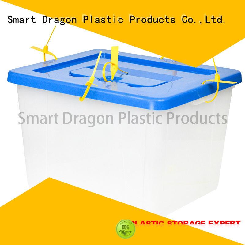 hard Custom ballot seal plastic products SMART DRAGON material