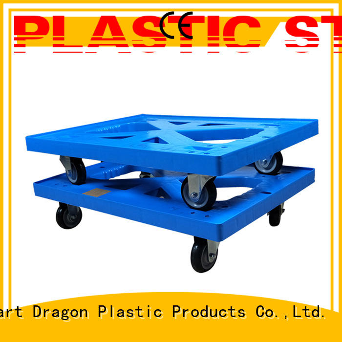 SMART DRAGON portable plastic trolley brands for turnover