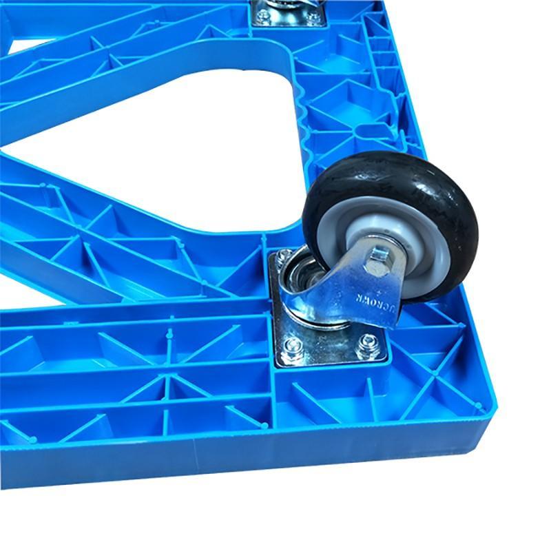 SMART DRAGON-Customize With 4 Wheels Dolly Board Trolley   Plastic Trolleys-2