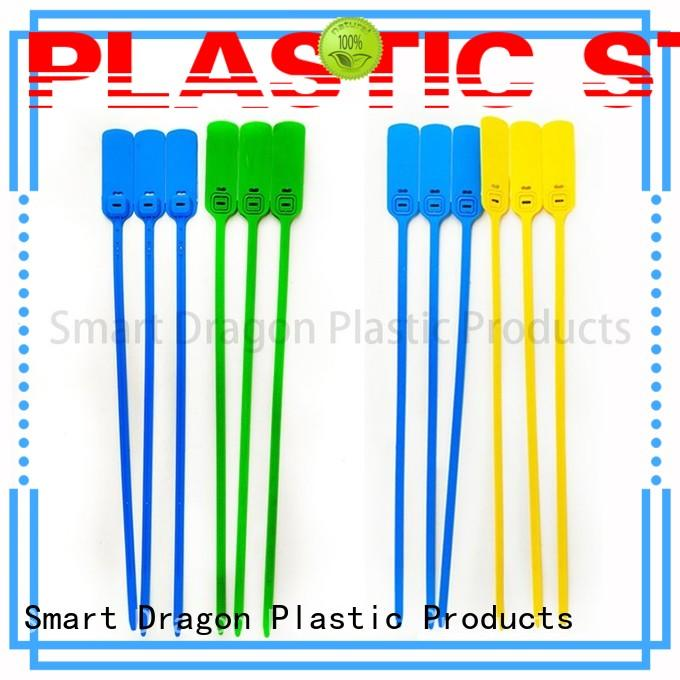 pp material plastic bag security seal tigh for packing