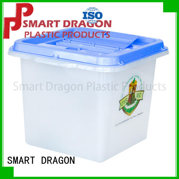 SMART DRAGON thickness plastic suggestion boxes wheel for election