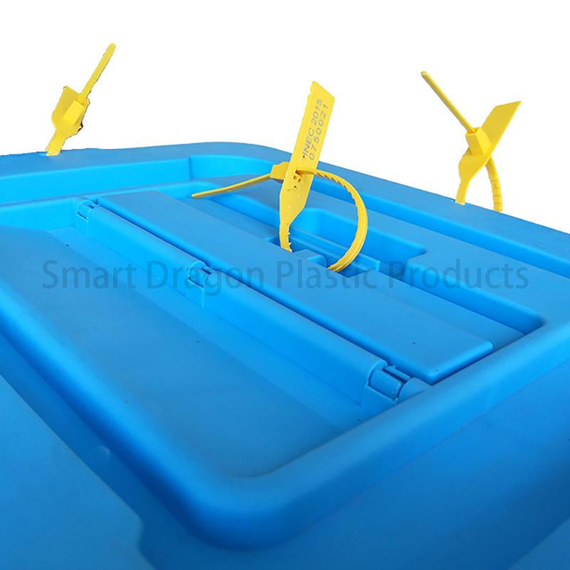 SMART DRAGON-50l-60l Plastic Ballot Boxes In Polypropylene | Large Ballot Box Factory