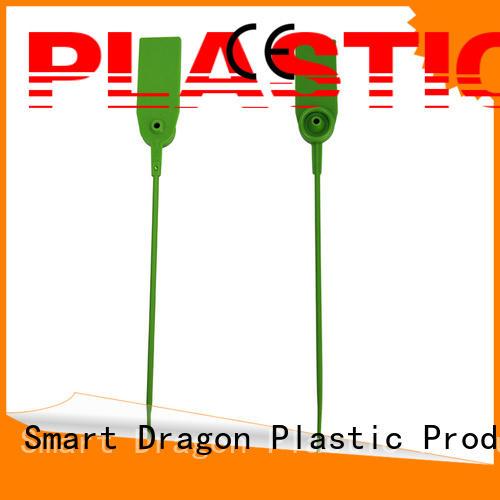 Custom pull plastic bag security seal tie SMART DRAGON