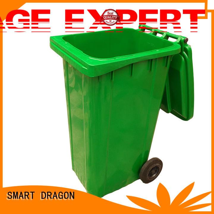 SMART DRAGON wheeled Plastic Waste Bin ODM hospital