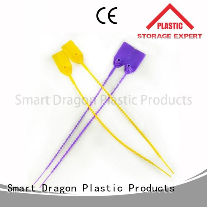 red custom plastic seals pull for packing SMART DRAGON