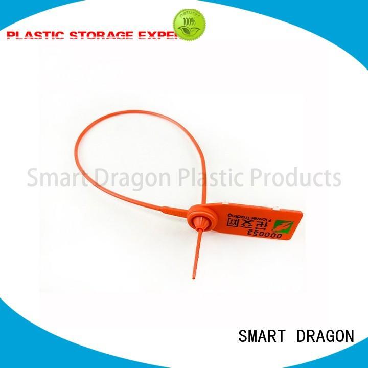 high security truck seals tie plastic bag security seal SMART DRAGON Brand