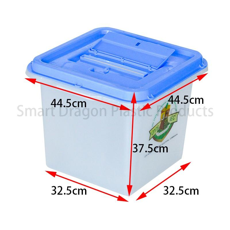 SMART DRAGON-Transparency 0, 50, 70, 90 Plastic Ballot Box | Plastic Ballot Box