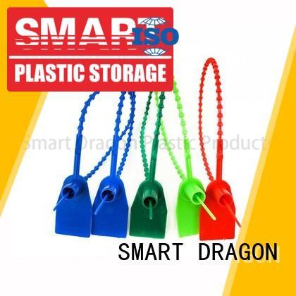 SMART DRAGON serial custom plastic truck seals padlock for ballot box