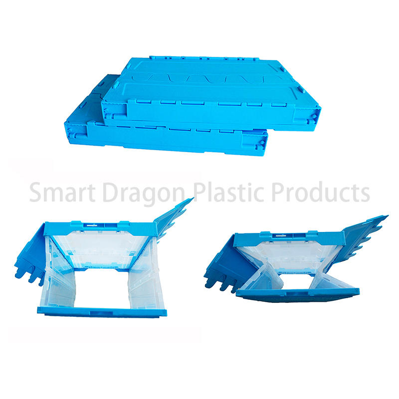SMART DRAGON-Find Blue Turnover Crate plastic Crates On Smart Dragon Plastic Products-1