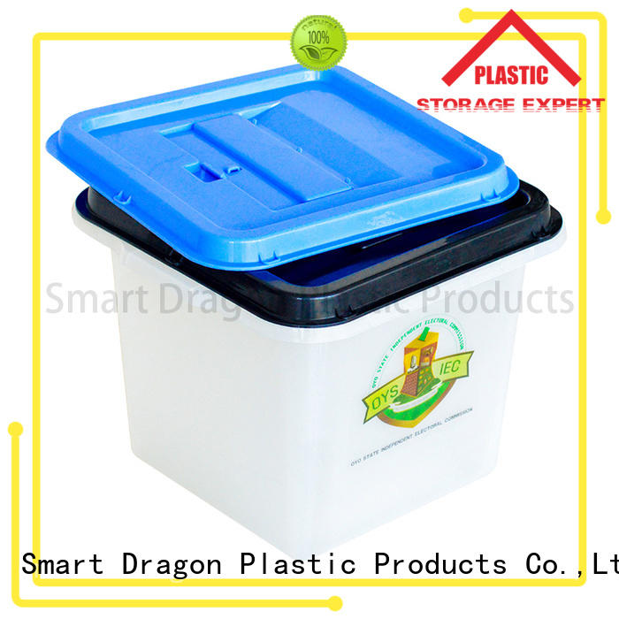 SMART DRAGON floor recyclable ballot boxes for sale for election