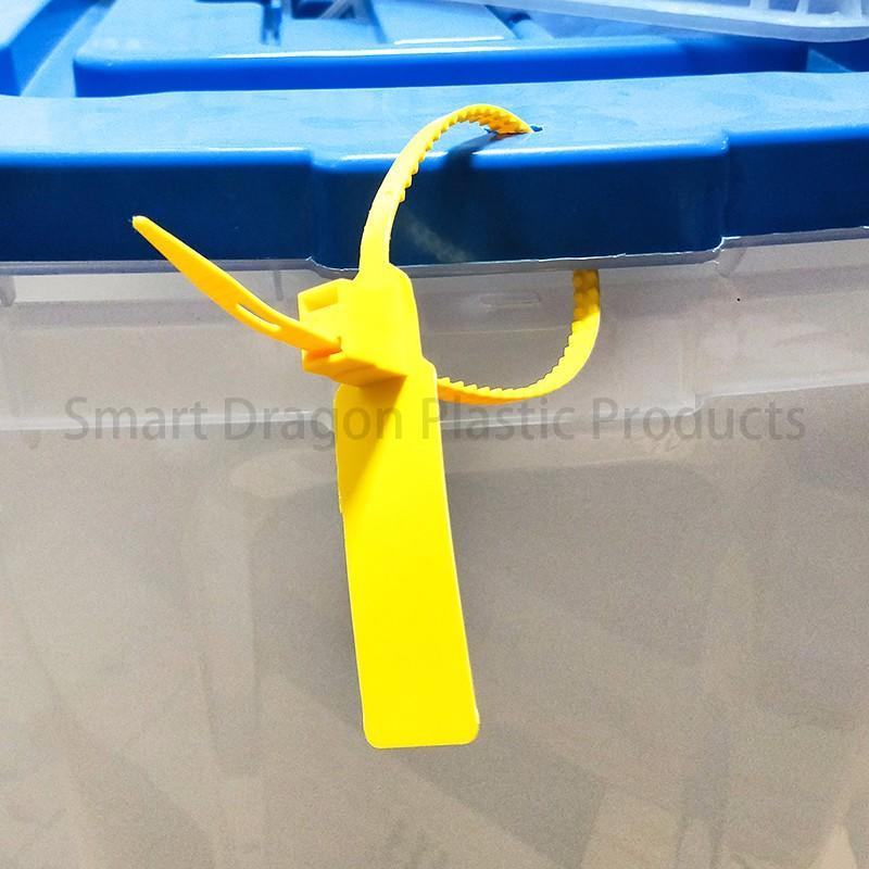 SMART DRAGON printed plastic container seals padlock for ballot box-1