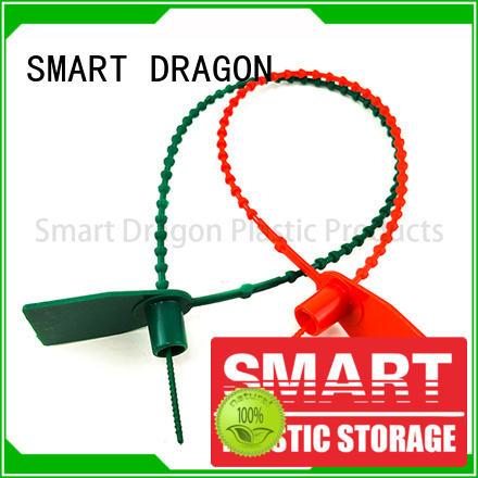 SMART DRAGON pp material plastic tamper evident seals tight for ballot box
