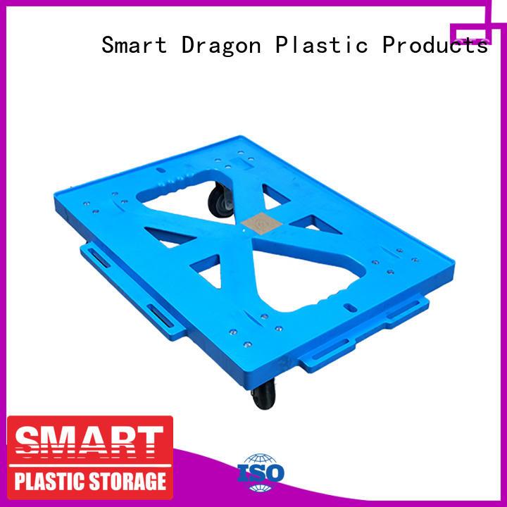 strong plastic hand truck for transportation