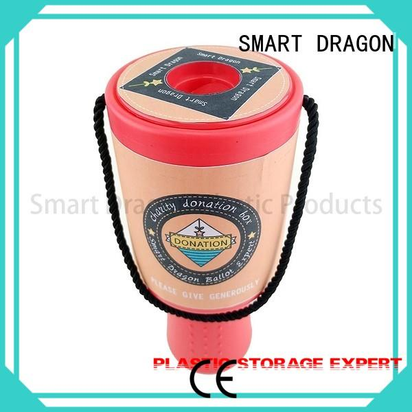 SMART DRAGON large plastic collection box popular for fundraising