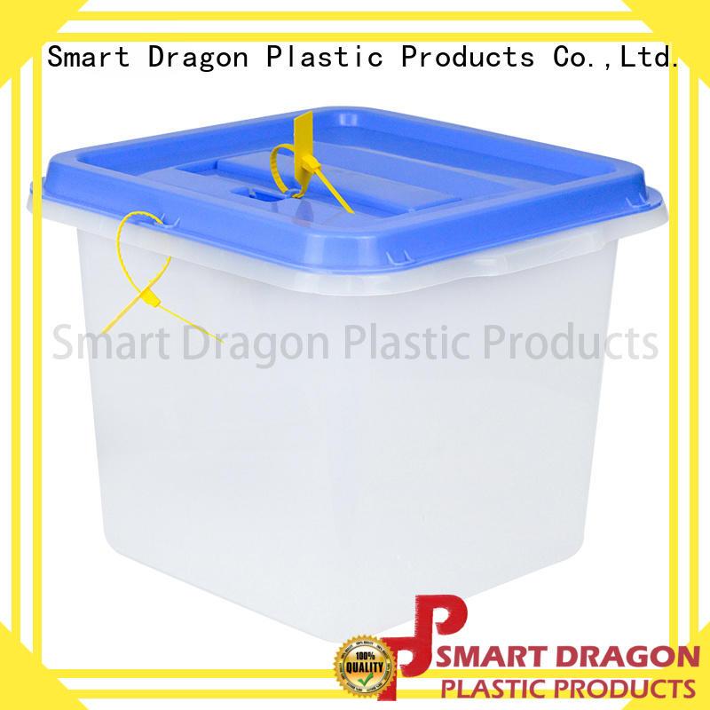 SMART DRAGON folding transparent voting box directional for election