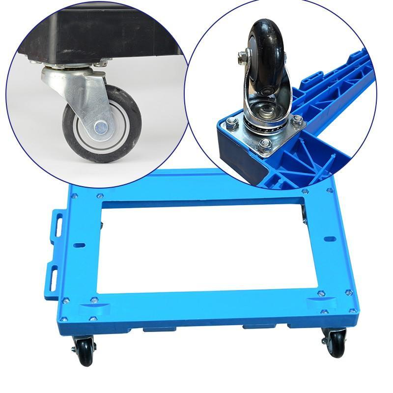 SMART DRAGON-New Plastic Moving Dolly 4 Wheels Trolley | Plastic Trolleys | Smart Dragon-2