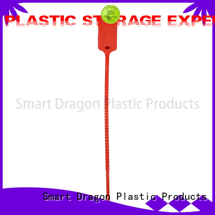 by logo prevent 350mm SMART DRAGON Brand plastic bag security seal supplier