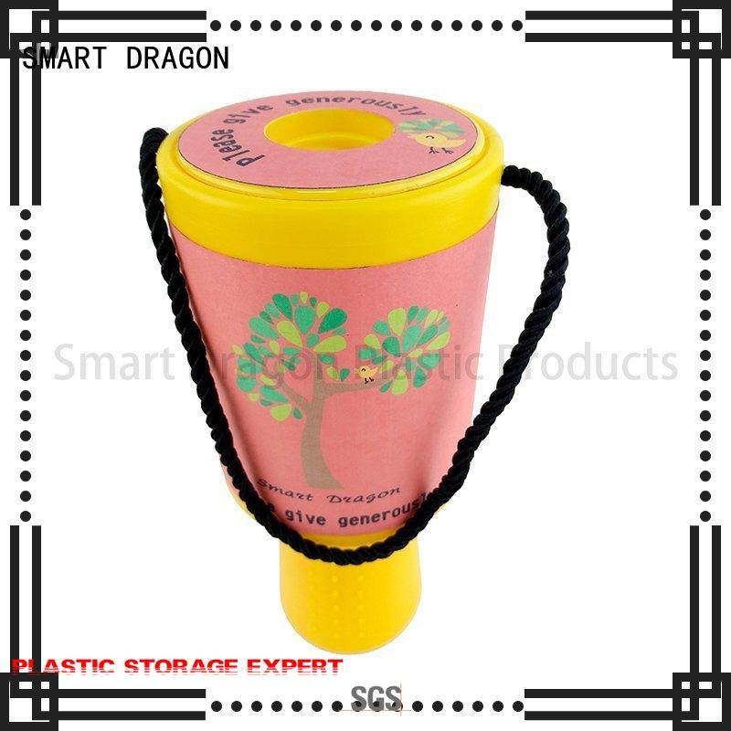 SMART DRAGON hand-held charity collection boxes free delivery for charity collection