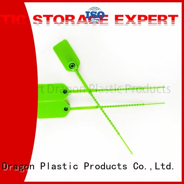 325mm custom plastic truck seals recycle for voting box SMART DRAGON