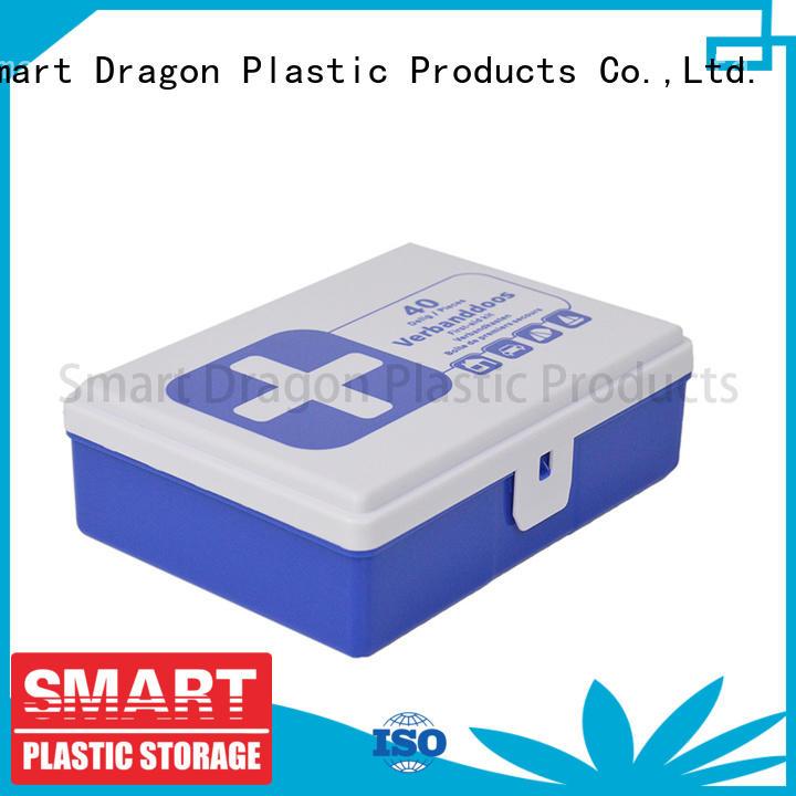 first aid box supplies pp first plastic medicine box material SMART DRAGON Brand