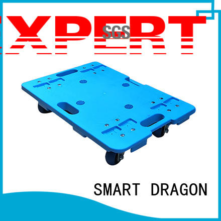 SMART DRAGON Brand heavy plastic trolley dolly factory